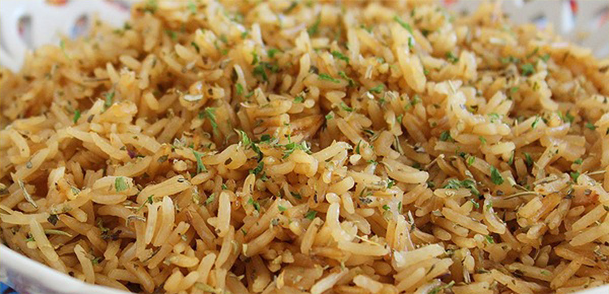 Beefy Onion Rice Recipe