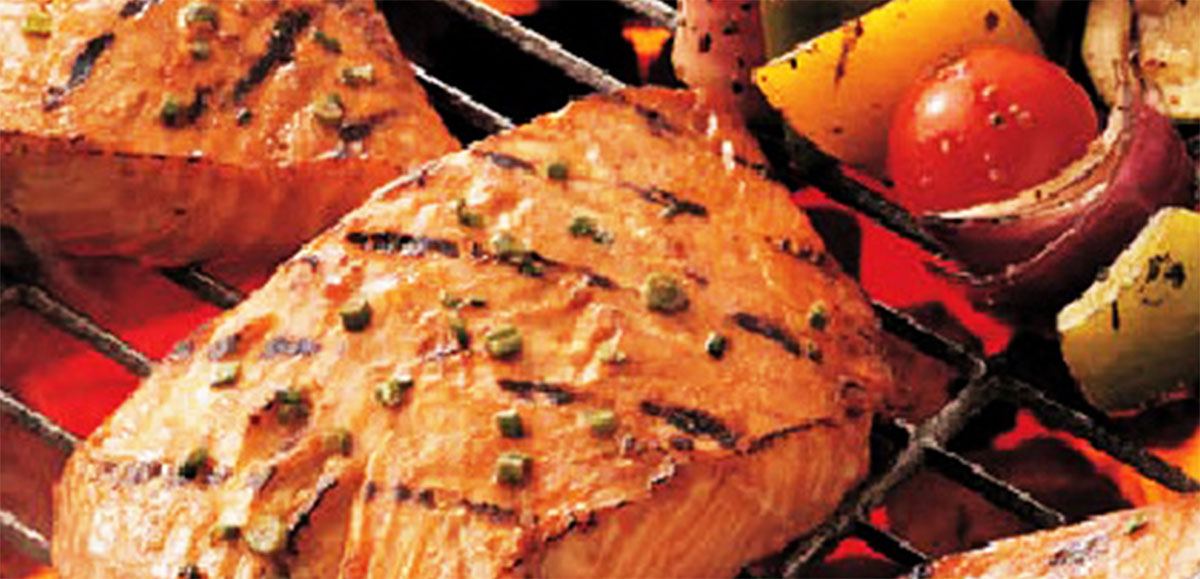 Honey Ginger Grilled Salmon Recipe